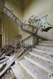 Old abandoned stair Stock Image
