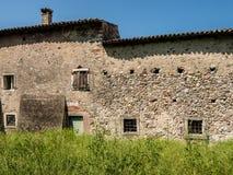 Old abandoned stone house. Stock Image