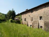 Old abandoned stone house. Royalty Free Stock Image