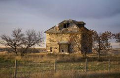 Old Abandoned Stone House Royalty Free Stock Photos