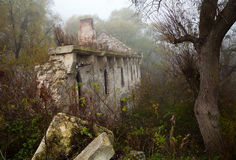 Old abandoned stone mill Royalty Free Stock Photo