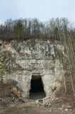 Old abandoned stone quarries Stock Photography