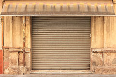 Old abandoned store Royalty Free Stock Photo