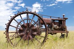 Old abandoned tractor. Stock Photography