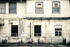 Old Abandoned Train Station Royalty Free Stock Photos