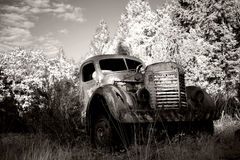 Old Abandoned Truck Stock Photography