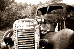 Old Abandoned Truck Stock Photos
