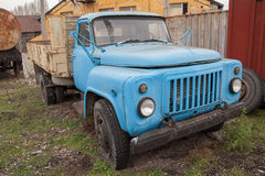 Old abandoned truck. In depo Stock Image