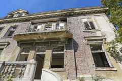 Old abandoned villa in Serbia Stock Photography