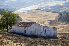 Old abandoned villa in Spain Royalty Free Stock Photography