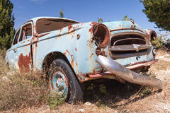 Old abandoned vintage rusted car Royalty Free Stock Photography