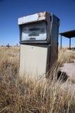 Old abandoned vintage USA gas station Stock Images
