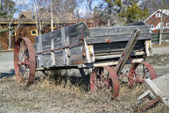 Old Abandoned Wagon Royalty Free Stock Photography