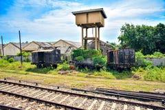 Old Abandoned Wagons Stock Image