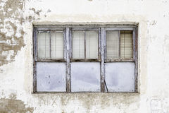 Old abandoned window Royalty Free Stock Photography