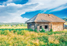Old abandoned wooden house Royalty Free Stock Images