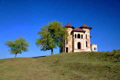 Old abandonned romanian castle Royalty Free Stock Photo