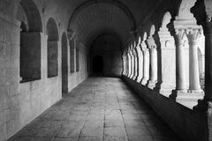 Old Abbey Galley Royalty Free Stock Photo