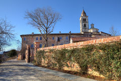 Old abbey. La Morra, Northern Italy. Stock Photography