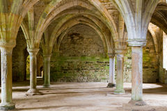 Old Abbey stonework Royalty Free Stock Photo