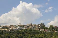 Old abruzzo village Stock Photography