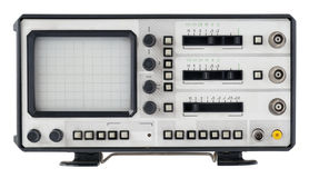 Old abstrct  oscilloscope Royalty Free Stock Images