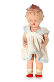 Old abused child doll #3 stock images