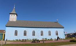 Old acadian church Royalty Free Stock Photography