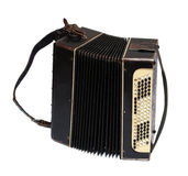 Old accordion Stock Photo