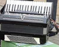Old accordion Royalty Free Stock Photo