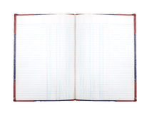 Old account book Stock Image
