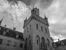 The old and acient Marienburg Castle, Germany.  Stock Photography