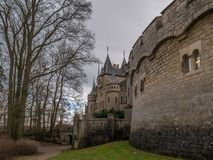 The old and acient Marienburg Castle, Germany.  Royalty Free Stock Photos
