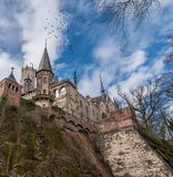 The old and acient Marienburg Castle, Germany.  Stock Image