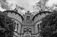 The old and acient Marienburg Castle, Germany.  Royalty Free Stock Image