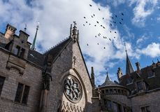 The old and acient Marienburg Castle, Germany.  Royalty Free Stock Photography