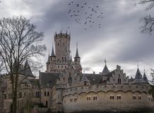 The old and acient Marienburg Castle, Germany.  Stock Images