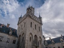 The old and acient Marienburg Castle, Germany.  Stock Photo