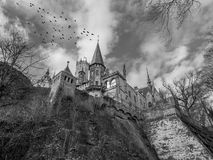 The old and acient Marienburg Castle, Germany.  Stock Photos