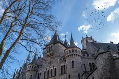 The old and acient Marienburg Castle, Germany Stock Photo