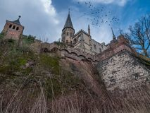 The old and acient Marienburg Castle, Germany Royalty Free Stock Photo