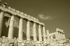 Old Acropolis Stock Photo