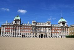 Old Admiralty Horse Guards Parade in London, England royalty free stock image