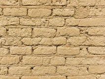 Old Adobe Brick Wall Royalty Free Stock Image