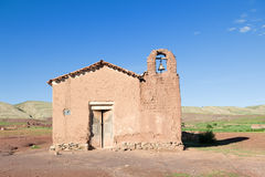 Old adobe church Royalty Free Stock Images
