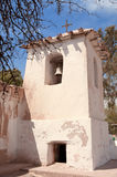 Old adobe church in the countryside of Argentina. Royalty Free Stock Photography