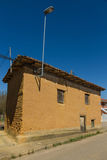 Old Adobe House in Village Royalty Free Stock Images