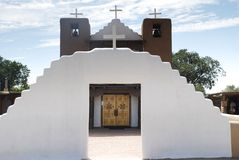 Old Adobe Mission Stock Photography