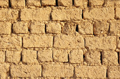 Old adobe wall closeup Royalty Free Stock Photography