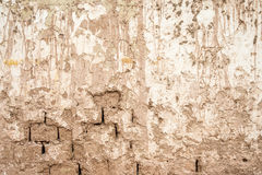 Old adobe wall Royalty Free Stock Photography